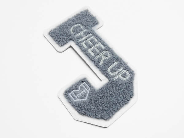 Towelling Embroidery Label